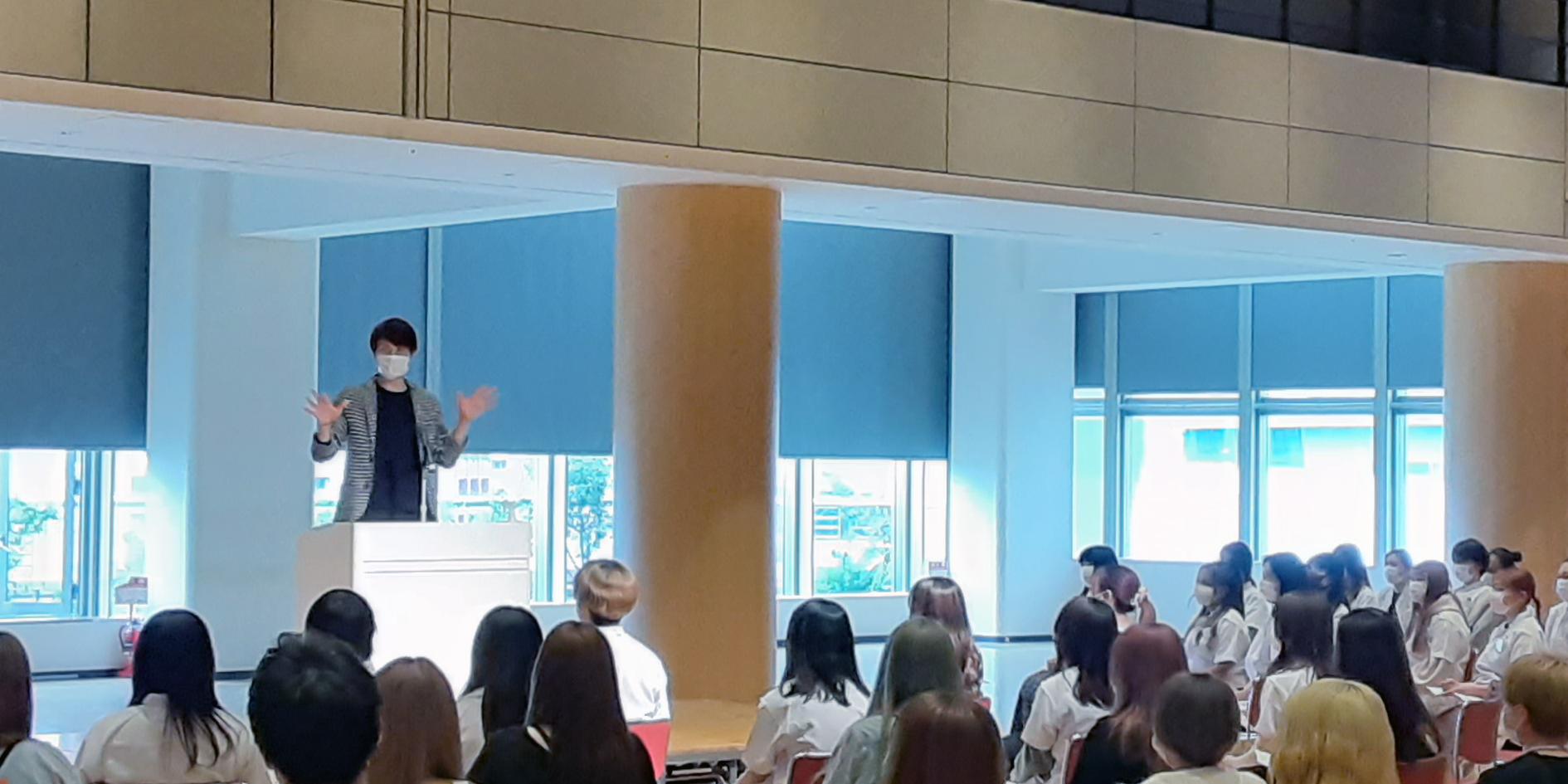 ヘアメイクアップアーティスト宮本盛満先生の特別講義に参加しました